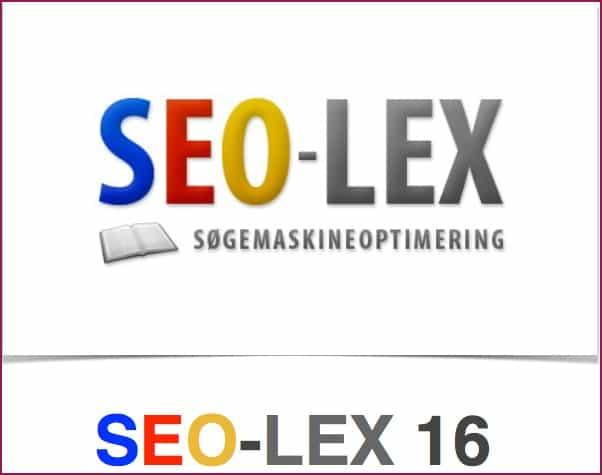 Ny SEO-LEX udgivet