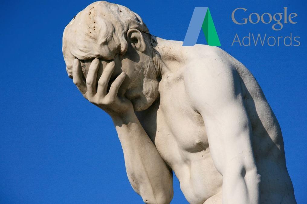 18 fejltagelser begået med AdWords