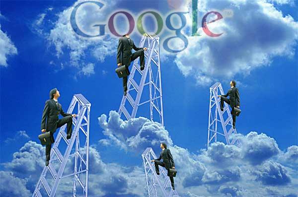 Øverst i Google