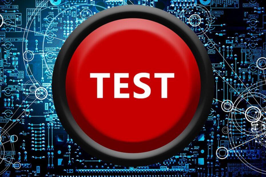 Test af hastighed og core web vitals