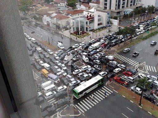Sao Paulo trafikprop