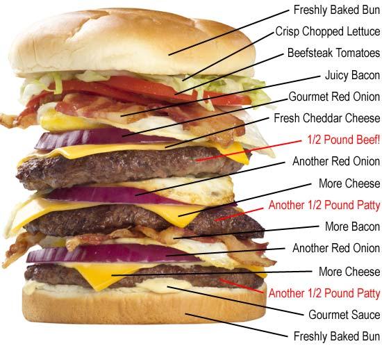Stor burger